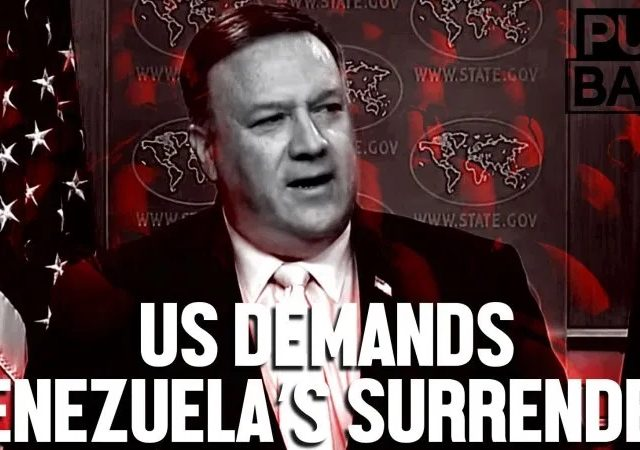 Pompeo's 'transition' plan tells Venezuela to suffer into submission