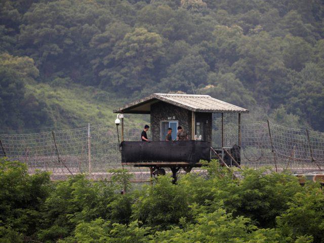 North & South Korea 'exchange gunfire' in demilitarized zone – Seoul