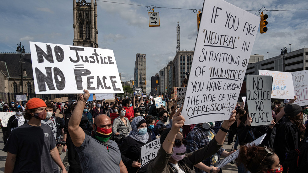 Amid raging protests