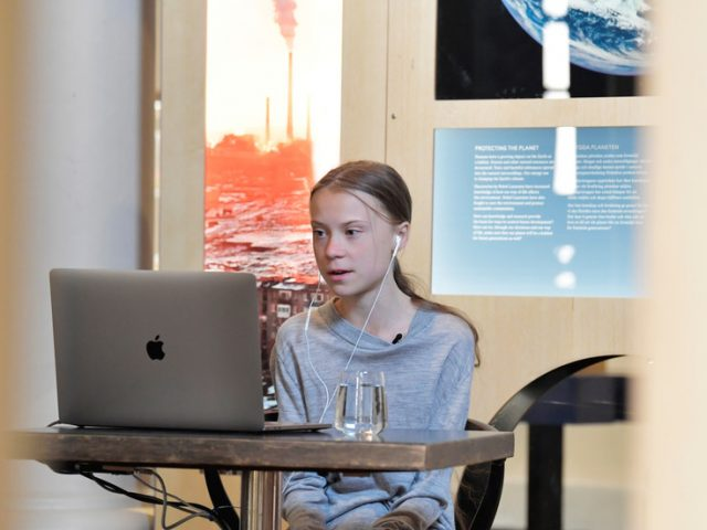 'The Onion can't keep up with CNN': Network's coronavirus town hall to feature… expert Greta Thunberg