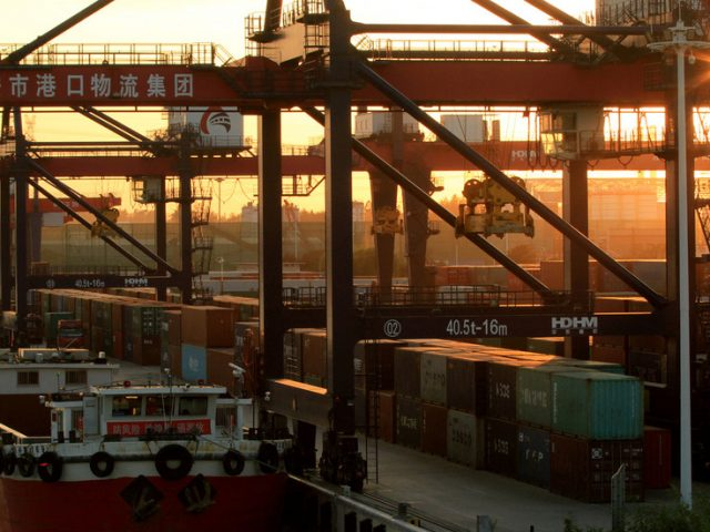 China's exports return to growth in April, but imports tumble