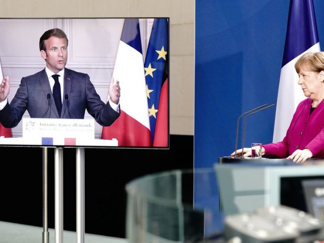 France & Germany suggest €500 BILLION fund to help Europe recover from Covid-19 epidemic