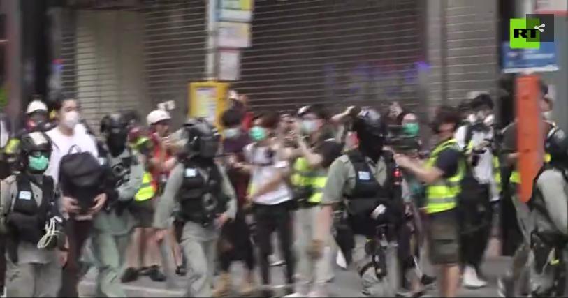 Hong Kong protests MSM