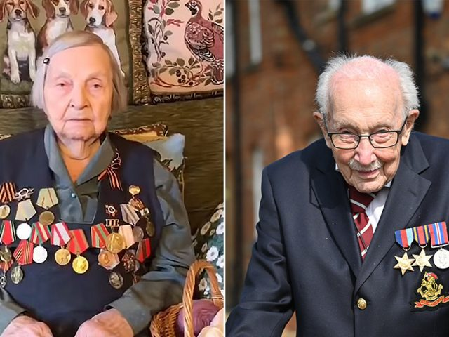 Inspired by Tom Moore: 98yo Russian WW2 vet raises $23,000 to help fight Covid-19
