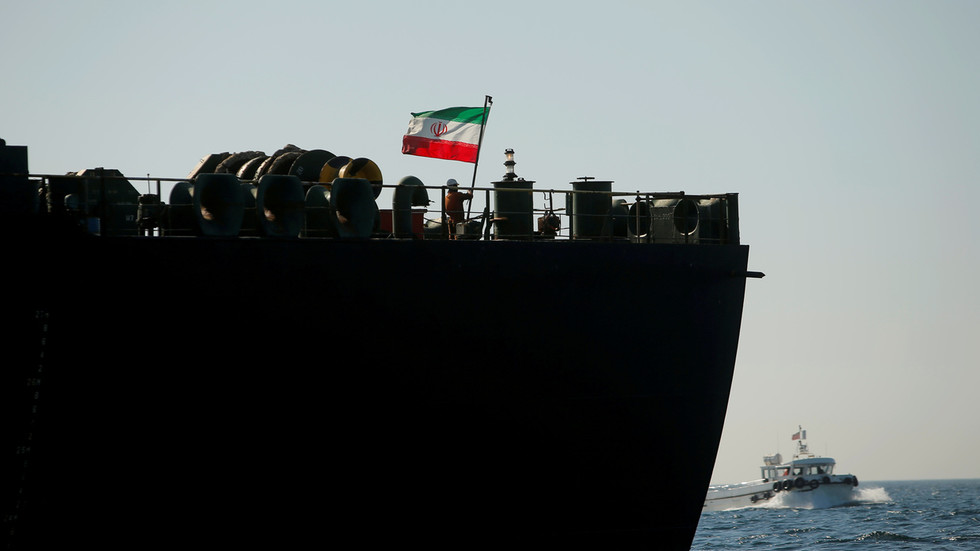 Iranian oil tankers