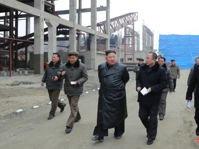 North Korea's Kim makes 'public appearance' at FERTILIZER PLANT amid death rumors fueled by Trump's 'no comments'