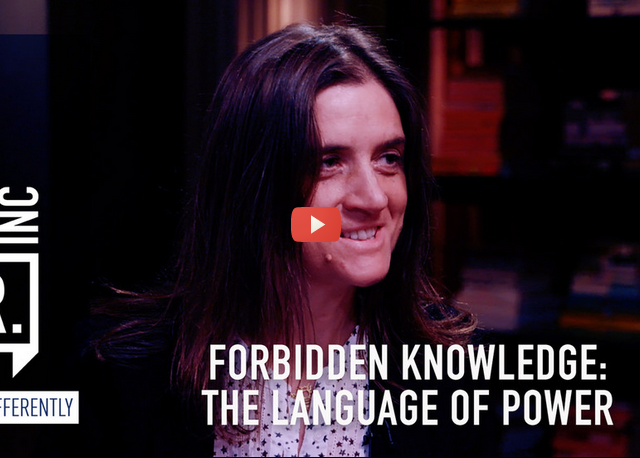 Forbidden knowledge: The language of power