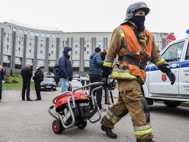 Russia BANS usage of ventilators suspected of causing deadly fires killing six Covid-19 patients
