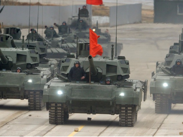 Russia tests its latest T-14 Armata tank in Syria