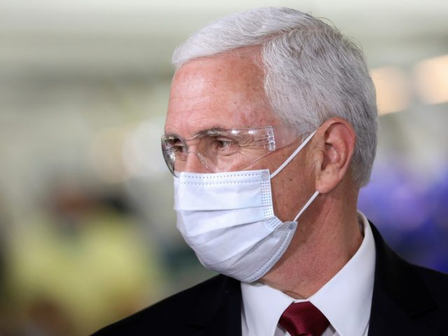VP Pence 'self-isolating away from the White House' over Covid-19 fears – report