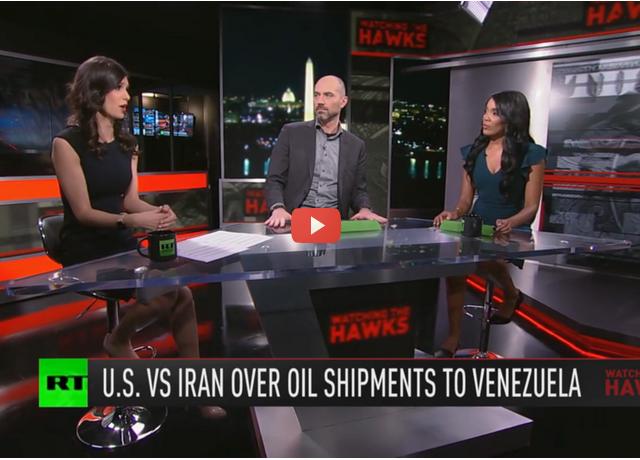 Iran, US spar over Venezuela & surveillance state sneaks past pandemic