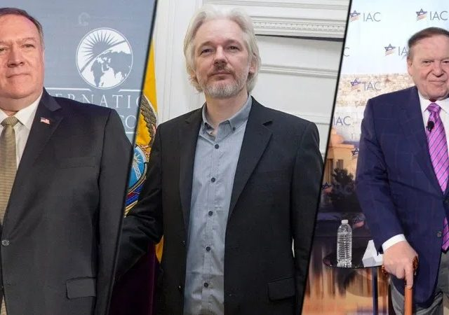 'The American friends': New court files expose Sheldon Adelson's security team in US spy operation against Julian Assange