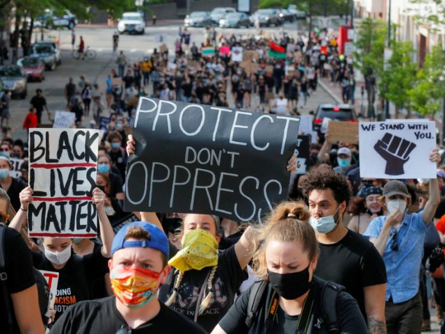 UN says US must HEAR George Floyd protesters' voices and get rid of its 'STRUCTURAL RACISM'