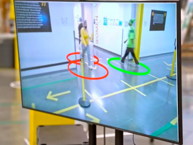 Amazon uses augmented reality to spy on its staff to ensure social distancing