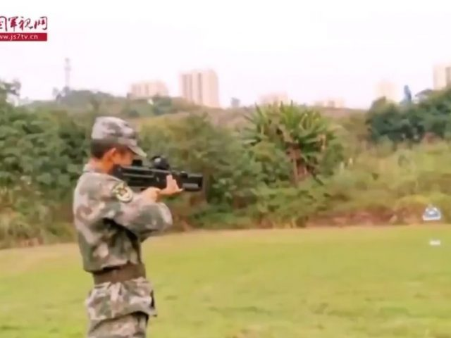 Chinese military showcases silent portable coilgun that can pierce steel (VIDEO)