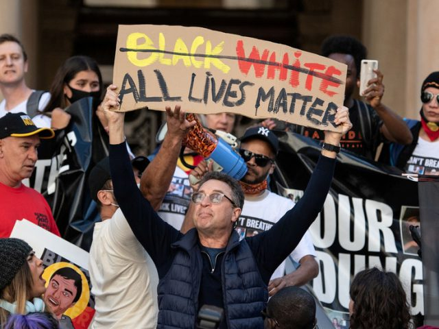 Most Americans think 'All Lives Matter' is a positive message. Yet why are we being told it's as good as a hate crime?