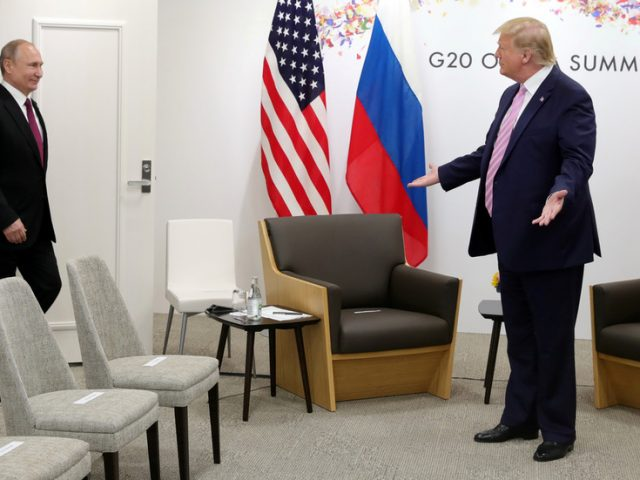 Putin & Trump talk Russia's possible participation in G7 summit during phone call