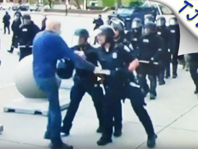 Cops Applaud Cops Who Assaulted 75 Year Old On Camera