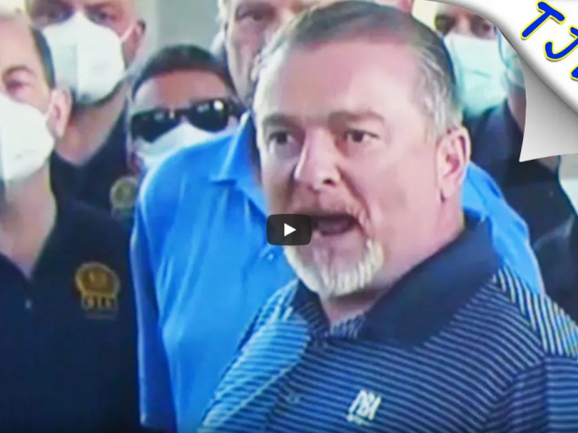 Unhinged NYPD Union Boss Angrily Defends Cops