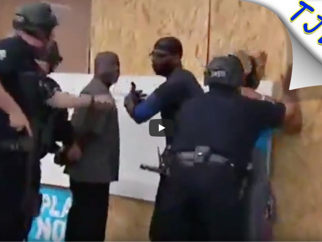Cops Arrest Store Owners Who Flagged Them Down For Help!?!?