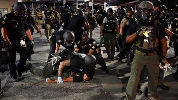 US Police Regularly Trained By Israeli Military: Amnesty Report