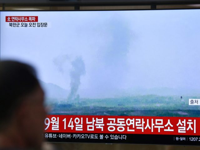 North Korea confirms 'terrific explosion' that destroyed inter-Korean liaison office, blaming Seoul for sheltering defectors