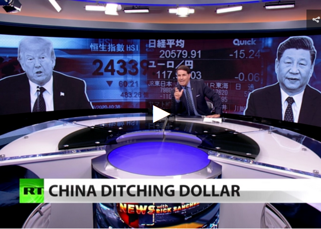New: China dumps US debt, fears dollar plunge (Full show)