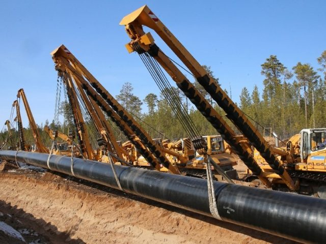 Russia to buy $1.5 billion worth of pipes to develop Arctic projects & pump gas to China