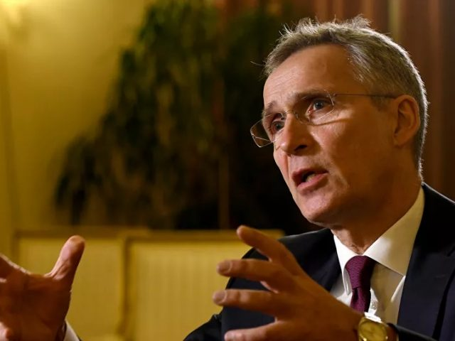 Stoltenberg Says NATO Should Not Ignore China's Rise in Power