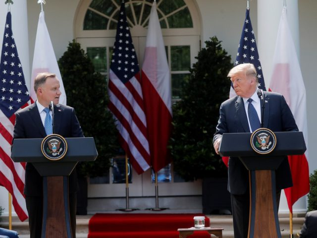 Trump says US will 'probably' relocate some troops from Germany to Poland as 'signal' to Russia
