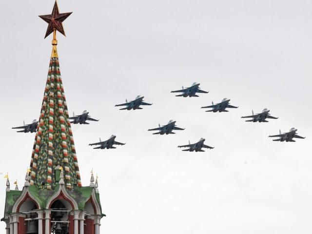 NINETEEN world armies to join Russians for annual Red Square Victory Parade