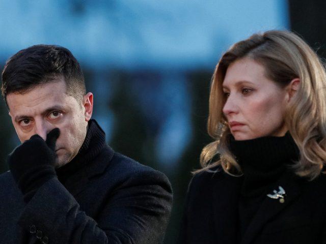 Kiev confirms Ukraine's first lady Yelena Zelenskaya hospitalized with Covid-19