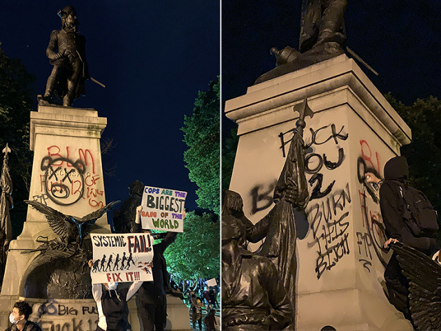 Justice for… Thaddeus Kosciuszko? Polish envoy enraged after DC protesters vandalize statue of national hero