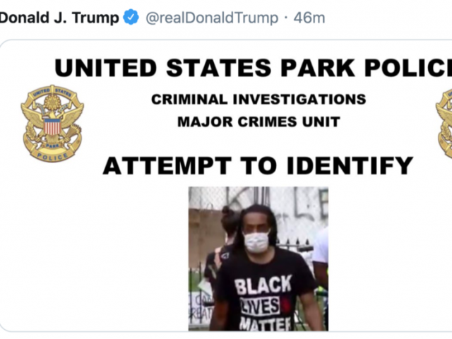 'Like the Wild West!' Trump shares 15 wanted posters of vandalism suspects, gets accused of harassment & persecution