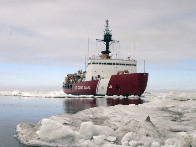 Trump orders polar ICEBREAKER FLEET build-up for 'strong Arctic security presence'