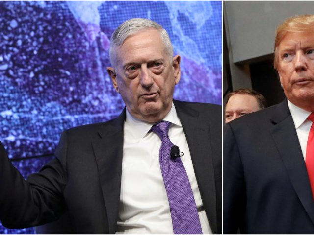 Dems cheer Mattis after he compares Trump to Hitler, conveniently forgetting he quit in protest over US' Syria withdrawal