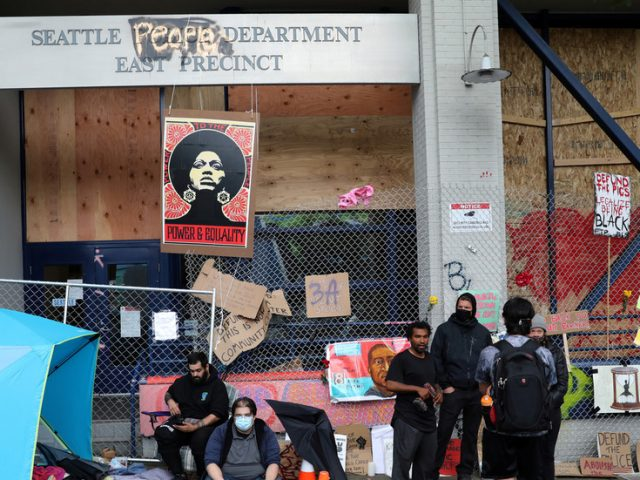 Now CHAZ has guns: Seattle autonomous zone 'warlord' filmed handing out AR-15s to followers