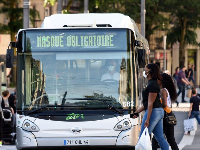 Bus driver left BRAIN DEAD after being BEATEN for refusing to allow passengers to board without masks in France