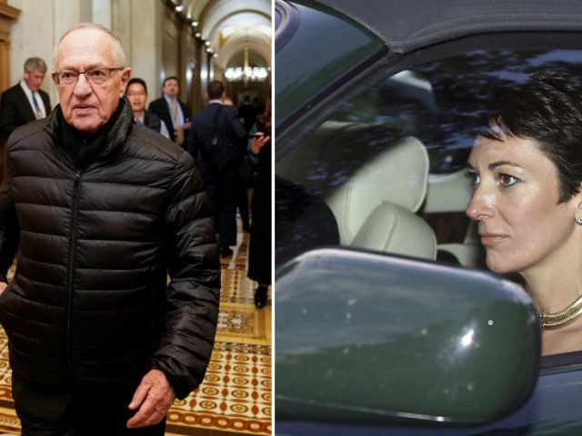 Dershowitz defends Ghislaine Maxwell by citing friendship with Clintons, Twitter scoffs