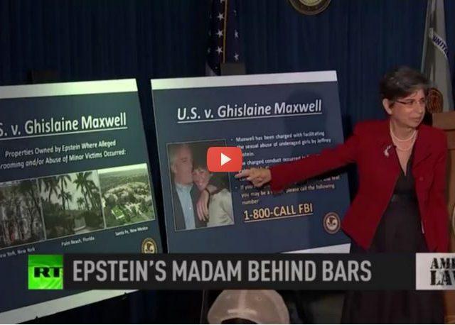Epstein confidante Ghislaine Maxwell behind bars