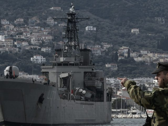 Greece 'readies its navy' in response to Turkey's survey of contested continental shelf