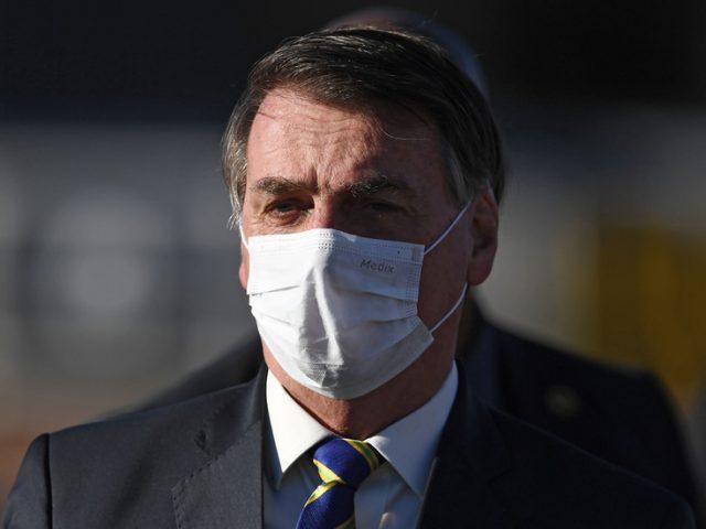 Brazil's Bolsonaro tests positive for Covid-19
