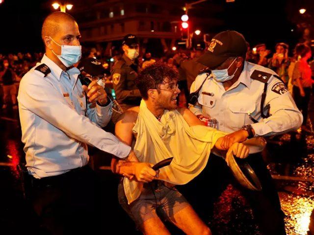 Clashes Erupt at Anti-Netanyahu Protest in Jerusalem – Reports