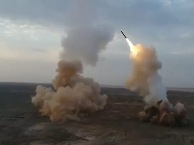 Video: Iran Test-Fires 'Buried' Ballistic Missiles in War Games
