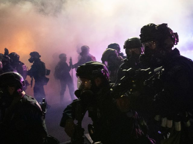 Feds won't leave Portland 'until there is safety': Trump rejects Oregon governor's claim that 'occupying force' is leaving city