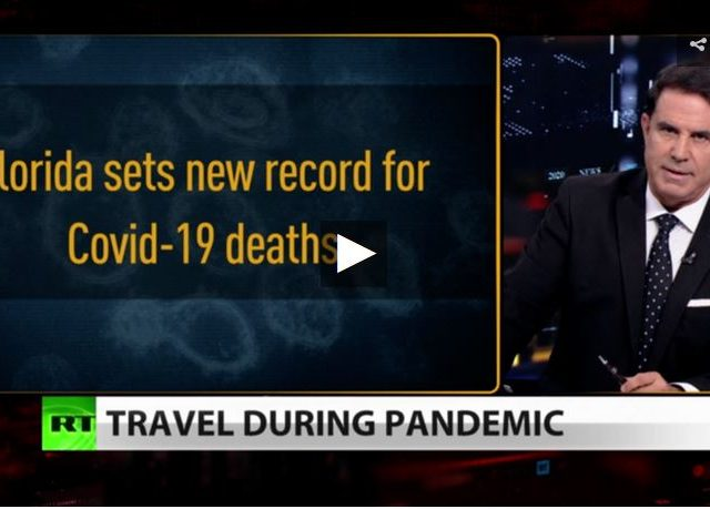 New US record death toll as world shuns Americans (Full show)