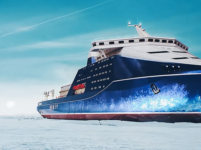 Russia starts building world's largest & most powerful nuclear icebreaker for Arctic sea voyages
