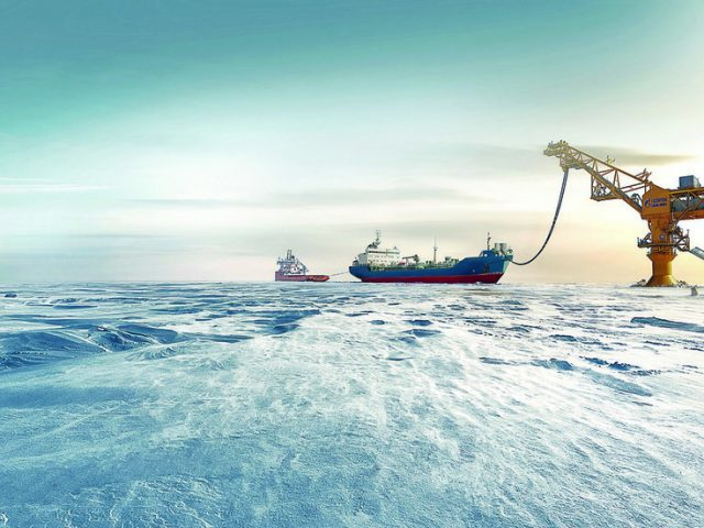 Russia supplies first shipment of Arctic oil to China