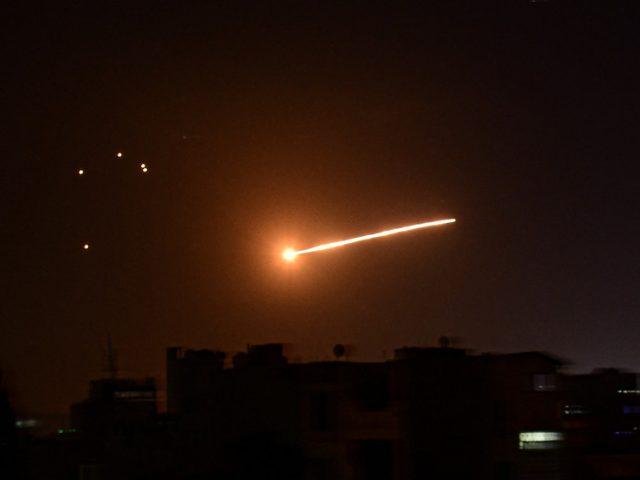 Damascus targeted in missile strike, Syrian state media blames Israel
