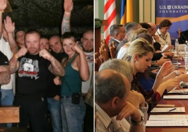 Influential DC-based Ukrainian think tank hosts neo-Nazi activist convicted for racist violence